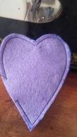 corazones fieltro coser